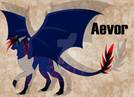 .: Aevor Reference Sheet :. by Meshion