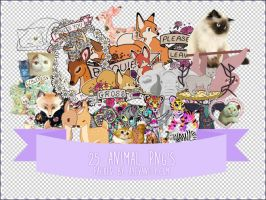 Animal PNGs by OftheCrucified