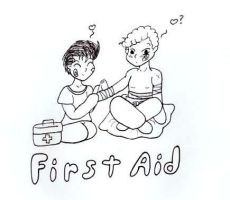 First Aid? by beanchan