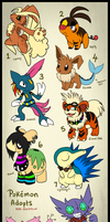 Pokemon Point adopts :closed: by Boltonartist
