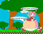 Amy Loves Cream And Cheese by Kphoria
