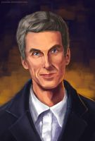 The Twelfth Doctor by yachaku