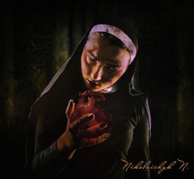 His Bleeding Heart by ChanelAllure