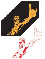 Spidey Rock Vector by BreakTheDay