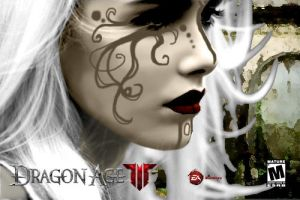 Faux Dragon Age Poster by Clarice04