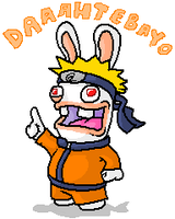 Naruto Rabbid by zimpy222