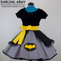 Batman Cosplay Lolita Skirt by DarlingArmy
