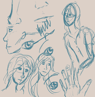 people Sketches by byrch