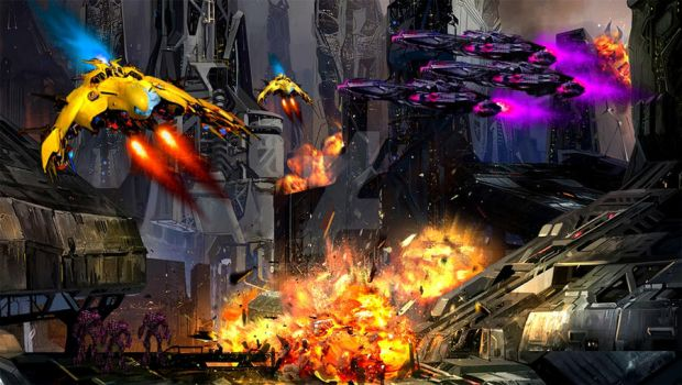 Transformers Movie Concept: Assault on Kaon by ZER0GEO