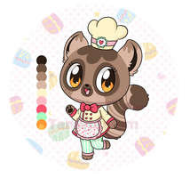Patissier Lemur Adopt (closed) by Tamatanium