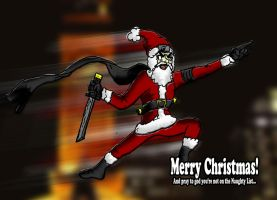 Ninja Santa Clause by XNinjaRed