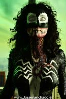 Venom Bodypaint by Morganita86