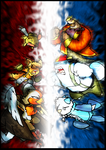 Triple Battle by Gafagear