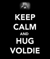 Keep Calm and Hug Voldemort by Potterhead-Writer