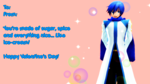 Valentine's Day Shion Series: Kaito by deadpan-happiness