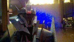 Soundwave up close and personal by Xemnass