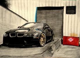 BMW SKETCH by tushar199320