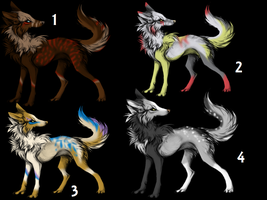 Adoptable Batch 1 -Open- by JBug12365Adopts