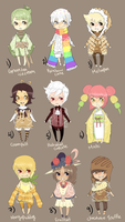 Adopts::Desserts CLOSED by Pandastrophic