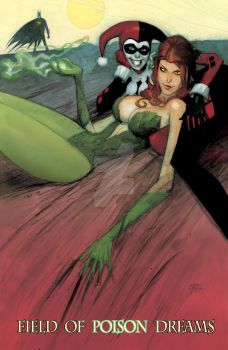 Poison Ivy painting finished by Andrew-Robinson