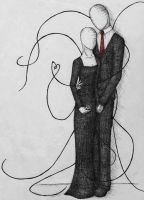 Faceless Couple by Caelistis-Rydraline