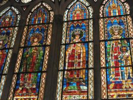 Notre-Dame de S. - stained-glass windows by Shan4972