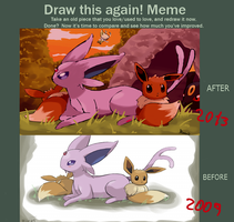 Draw this again meme by MamaRocket