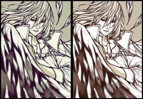 Howl Sketch by corrico