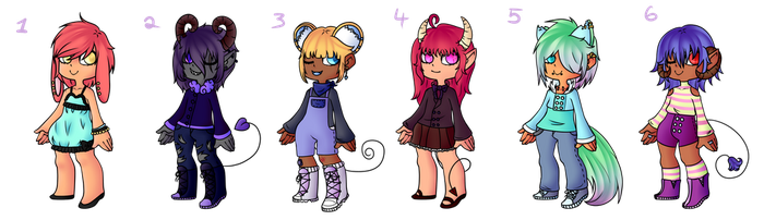 despairadopts collab {OPEN 6/6} by Shining-Star-Adopts
