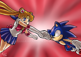 Joining to Fight to the Finish! by SailorMoonAndSonicX
