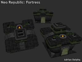 Neo republic Fortress by DelphaDesign