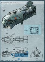 SUBWAR - Dropship by Hideyoshi