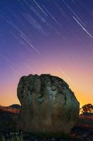 Dog Rocks Star Trail by DanielleMiner