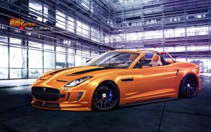 Jaguar F Type-S by CaR-MaNiA