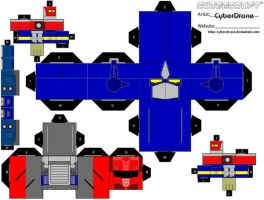 Cubee - Prime 'Armada' by CyberDrone