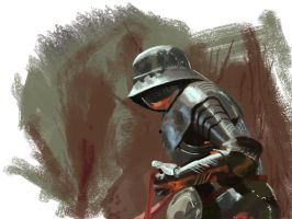 Armour study speedpaint by Rodriguezzz