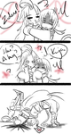 Request 2 - Zidane and Kuja by himichu