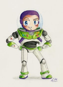 Buzz Lightyear by Chibi-Joey