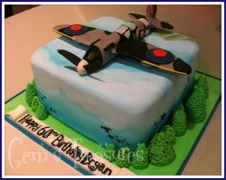 Spitfire Cake by gertygetsgangster