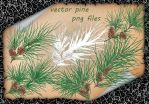 Pine Vector by roula33