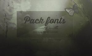 Pack de fonts by EDFTeam