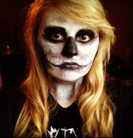 Skeleton Face. by Self-Eff4cing