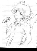 Just s0m3 sketch by Kyousuke