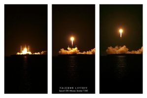 Falcon9 Liftoff by manticor