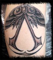 assassins creed logo symbol by BMXNINJA