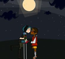 Night Time Kisses by ellie-bean