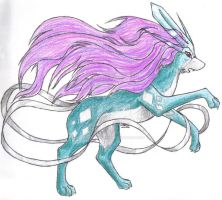 Suicune by SUNgoddessOKAMI