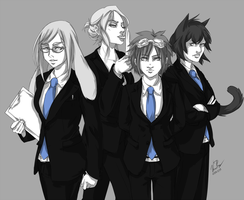 Deadly Ladies by Bobo-Kitty