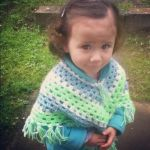 my niece and her poncho by rewi123