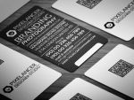 Typography Business Card by calwincalwin
